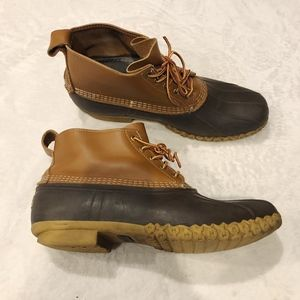 LL Bean   Low Rise Duck Boots Mens 15